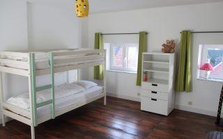 3 pers. kamer met stapelbed en 1 pers. bed